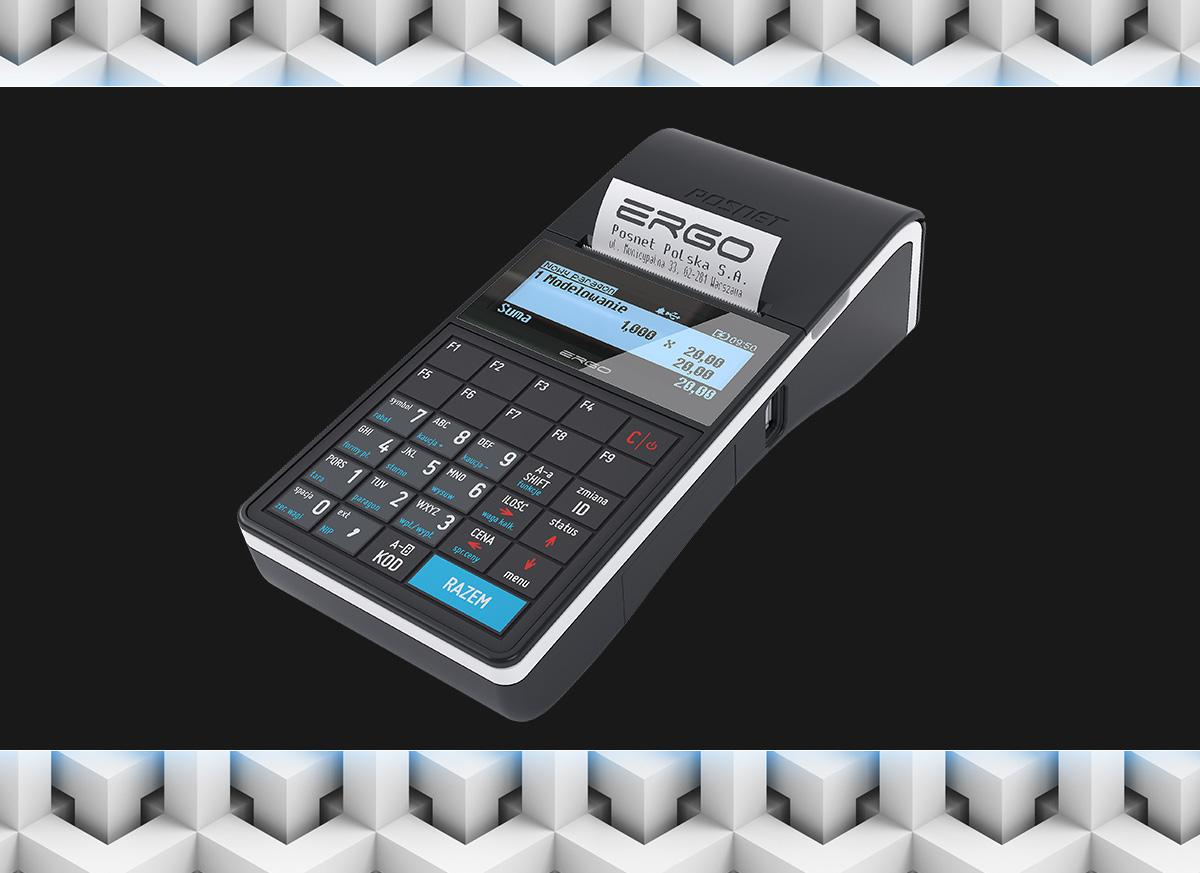 Posnet Ergo - kasa fiskalna z kopią elektroniczną
