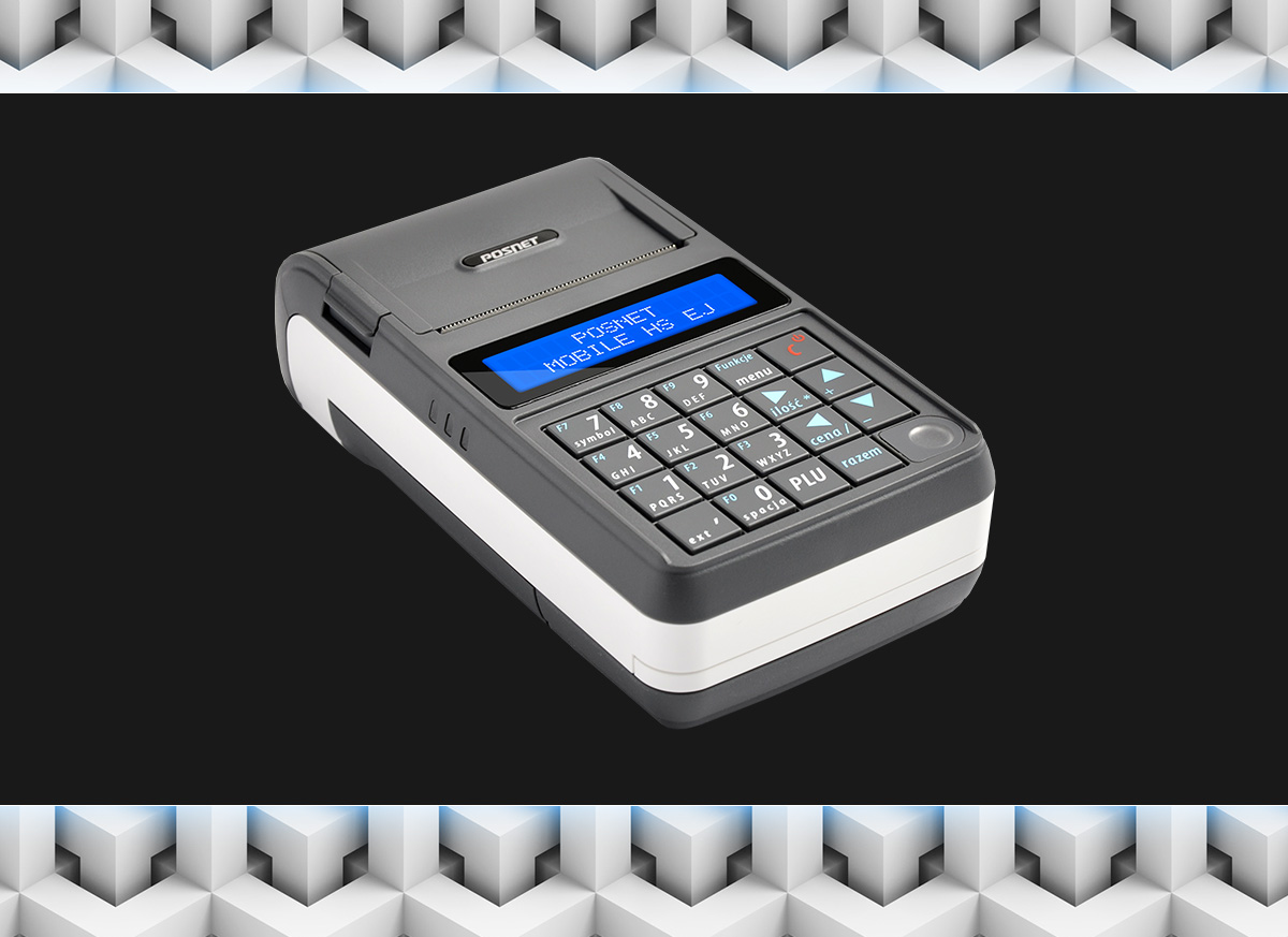 Posnet Mobile HS EJ - poręczna kasa fiskalna